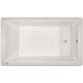 Signature Bath 72-inch x 42-inch x 18-inch Drop-in Air tub with Stainless Jets and Heated Blower