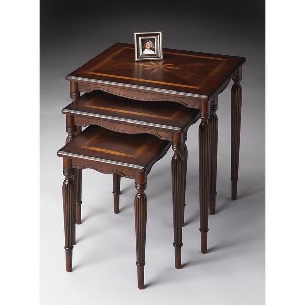 Butler Winifred Plantation Cherry Nest Of Tables