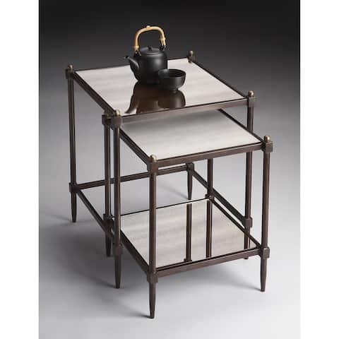 Handmade Butler Metalworks Nesting Tables