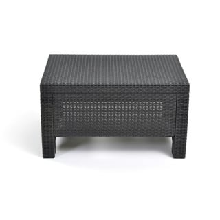 Keter Corfu Charcoal All-Weather Outdoor Garden Patio Coffee Table|https://ak1.ostkcdn.com/images/products/12059103/P18928785.jpg?impolicy=medium