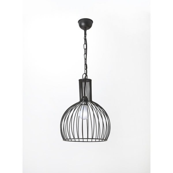 Butler Black Iron 1 Light Pendant