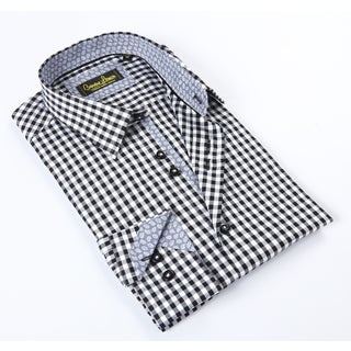 Banana Lemon Classic Black/White Dress Shirt