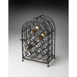 Butler Clybourn Iron Wine Rack