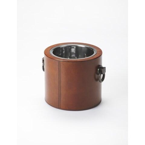 Handmade Butler Leather Wine Cooler (India)