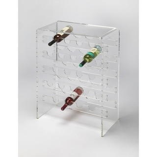 Butler Crystal Clear Acrylic Wine Rack