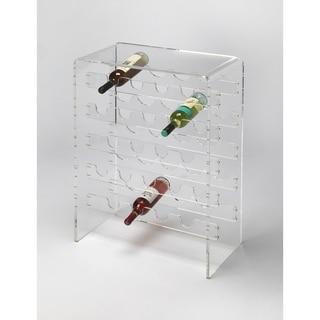 Butler Crystal Clear Acrylic Wine Rack
