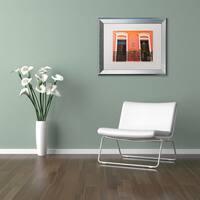 CATeyes 'Old San Juan 15' Matted Framed Art