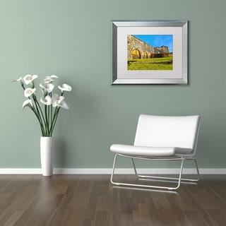 CATeyes 'Castillo San Cristobal' Matted Framed Art