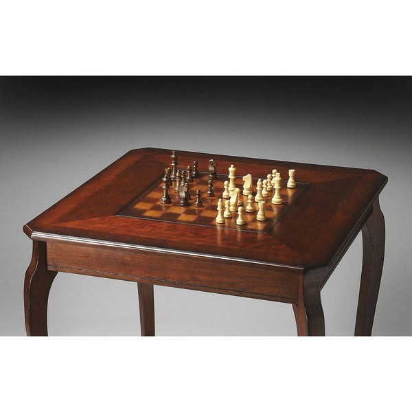 Butler Plantation Cherry Pub Game Table   Free Shipping Today    Overstock.com   18929455