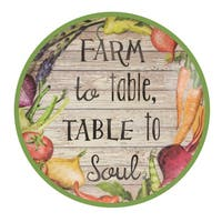 "Farm to Table 12"""" Plastic Lazy Susan"