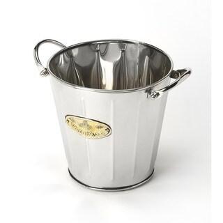 Butler Santa Rosa Silver Stainless Steel Wine Bucket