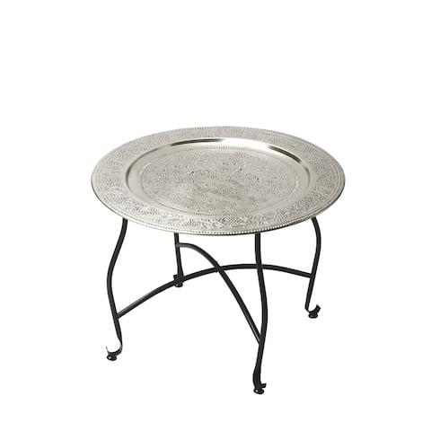 Butler Agadir Metal Moroccan Tray Table