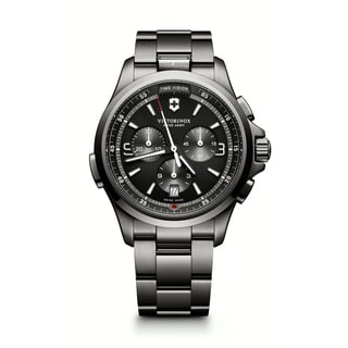 Victorinox Men's 241730 Stainless Steel Night Vision Chronograph Watch