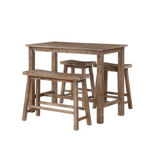 Sonoma Wood 4-piece Pub Set With Table