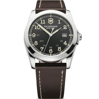 Victorinox Men's 241563 Infantry Military Time Leather Watch