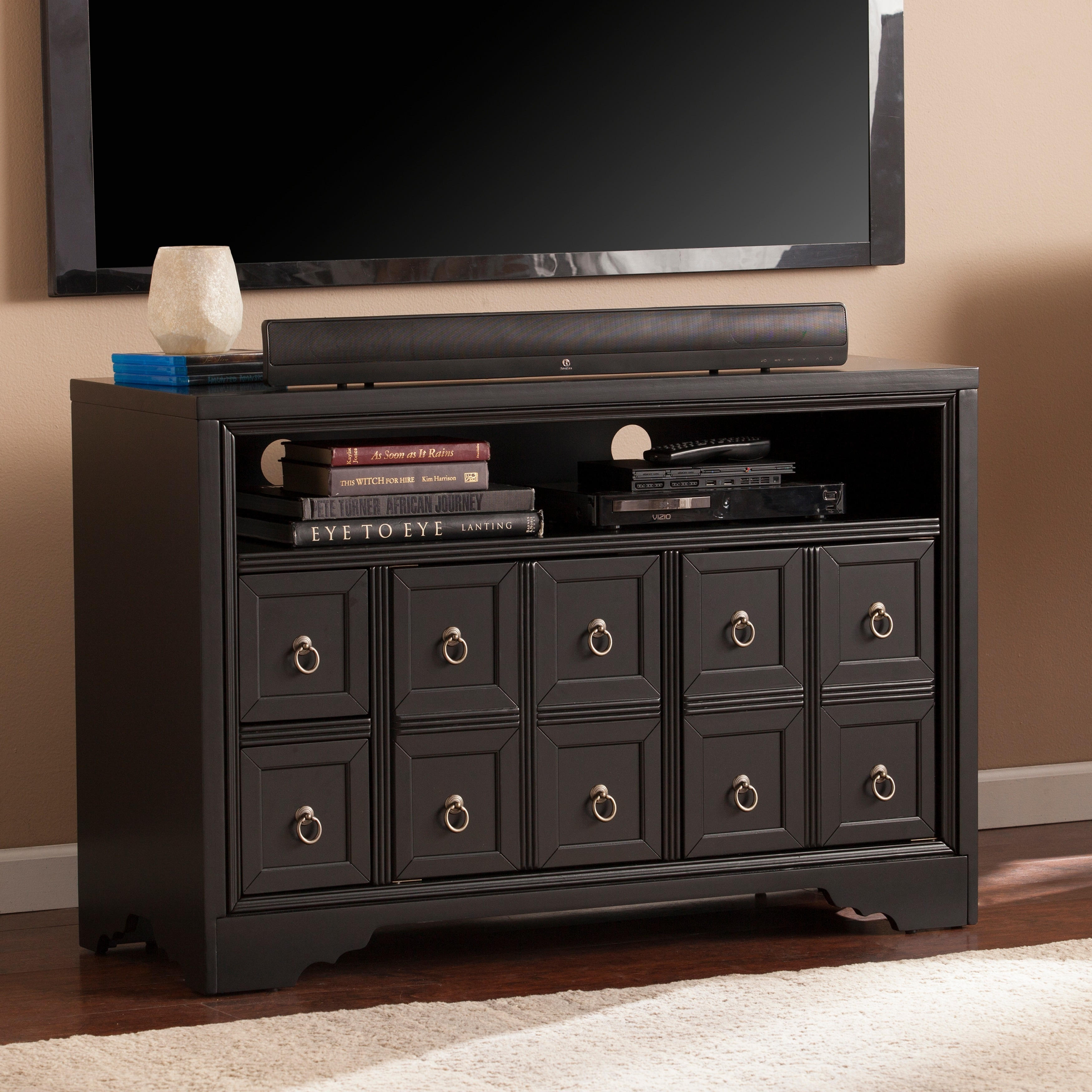 Attractive Harper Blvd Rupert TV Console (OS2040SM), Black