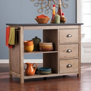 Harper Blvd Dason Industrial Kitchen Island