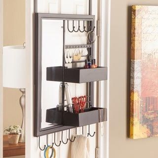 Harper Blvd Jocelin Over-the-Door Jewelry Mirror/ Storage