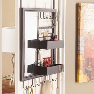 Clay Alder Home Glen Over-the-Door Jewelry Mirror/ Storage