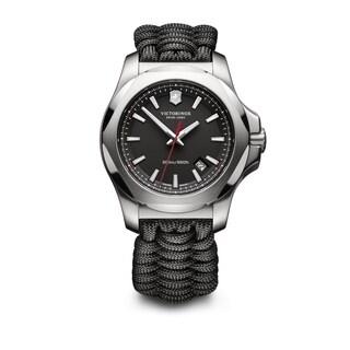Victorinox Men's INOX Paracord 241726.1 Black Nylon and Stainless Steel Watch