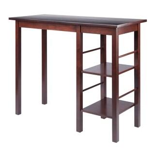 Egan Breakfast Table with 2 Side Shelves