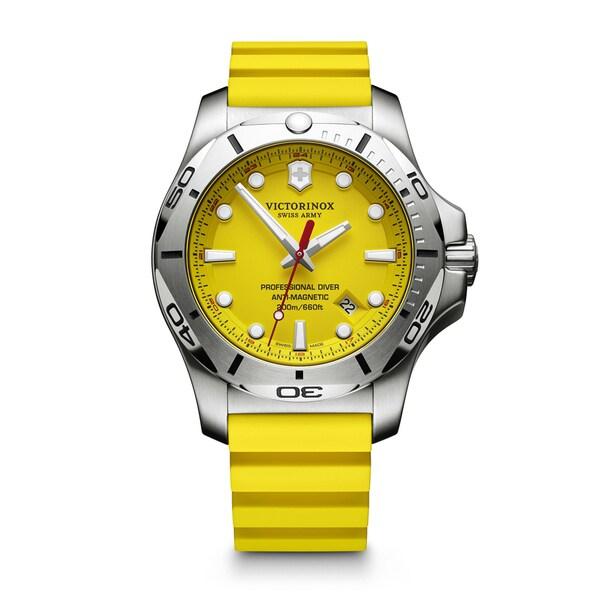 Victorinox Men's INOX V Yellow Watch