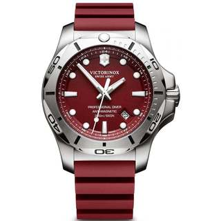 Victorinox Swiss Army INOX V241736 Red Stainless-steel Men's Watch