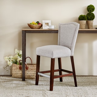 Madison Park Everitt Grey Multi Counter Stool