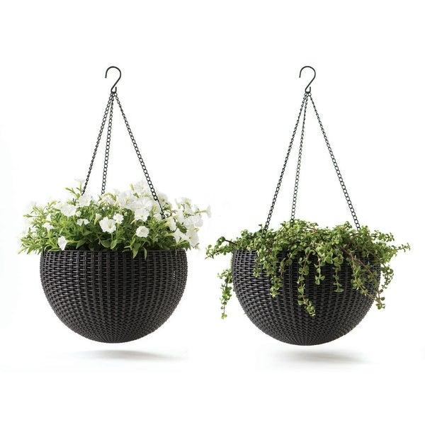 """set of 2 21/"""" Plant Basket Hanger"""