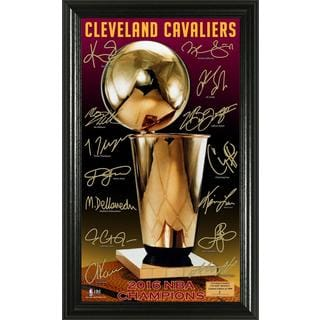 "2016 NBA Finals Champions ""Trophy"" Signature Photo"