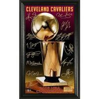 "2016 NBA Finals Champions ""Trophy"" Signature Photo - Multi-color"