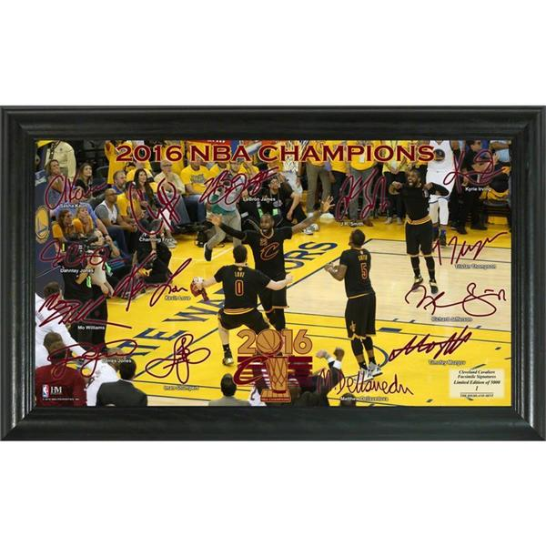 2016 NBA Finals Champions Signature Court