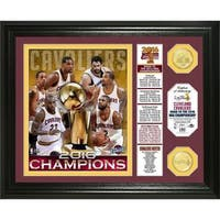 "2016 NBA Finals Champions ""Banner"" Bronze Coin Photo Mint"
