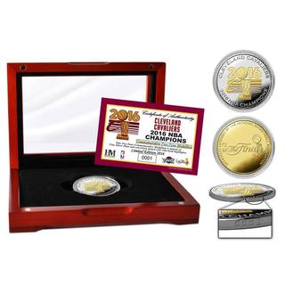 2016 NBA Finals Champions Two-Tone Mint Coin