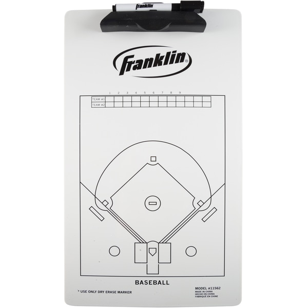 Franklin Sports Baseball Coaching Clipboard