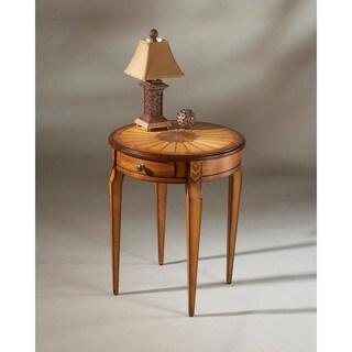 Handmade Butler Archer Olive Ash Burl End Table (China)