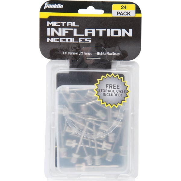 Franklin Sports Metal Needles (Pack of 24)