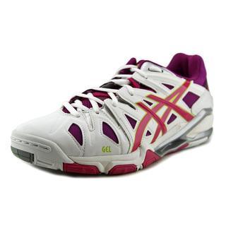 Asics Women's Gel-Sensei 5 White Synthetic Athletic Shoes