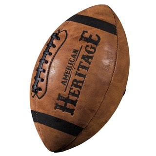 Franklin Sports Junior American Heritage Brown Plastic Football