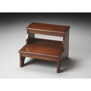 Butler Melrose Chestnut Burl Step Stool