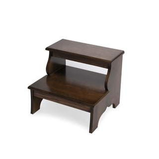 Butler Melrose Praline Wood Step Stool