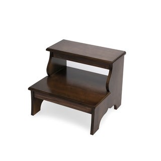 Handmade Butler Melrose Praline Wood Step Stool (China)