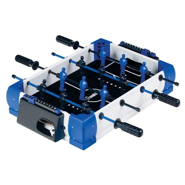 Franklin Sports White/Blue/Black Plastic 20-inch Pro Kick Foosball Table