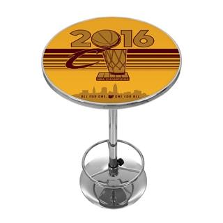 Cleveland Cavaliers 2016 NBA Chamipons Chrome Pub Table