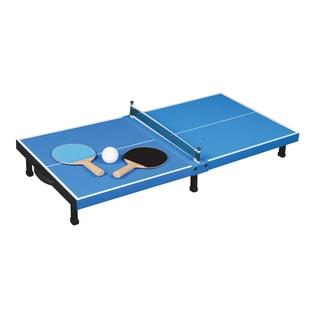 Franklin Sports Black, Blue, White Plastic Pro Set Table Top Tennis