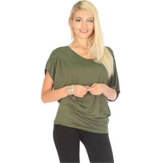 Contemporary Dolman Tunic Top|https://ak1.ostkcdn.com/images/products/12061161/P18930606.jpg?impolicy=medium