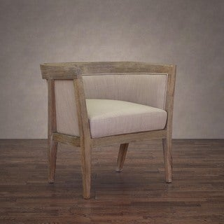 Richmond Beige Linen Arm Chair