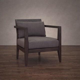 Stockholm Smoke Linen Arm Chair