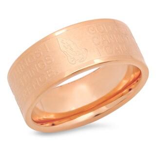 Piatella Ladies Rose Gold Tone Serenity Ring