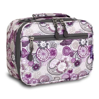 J World Cody Purple Lemon Lunch Bag